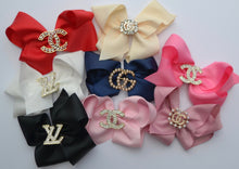 "Load image into Gallery viewer, Bella Reese Designer Inspired 6"" Bows"