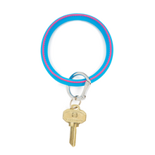 Load image into Gallery viewer, Big O Key Ring - Smooth Leather