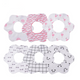 New Lovely Flower Style Baby Bibs, Fashion Pattern Dot Cactus Flamingo Bibs for Girls Boys