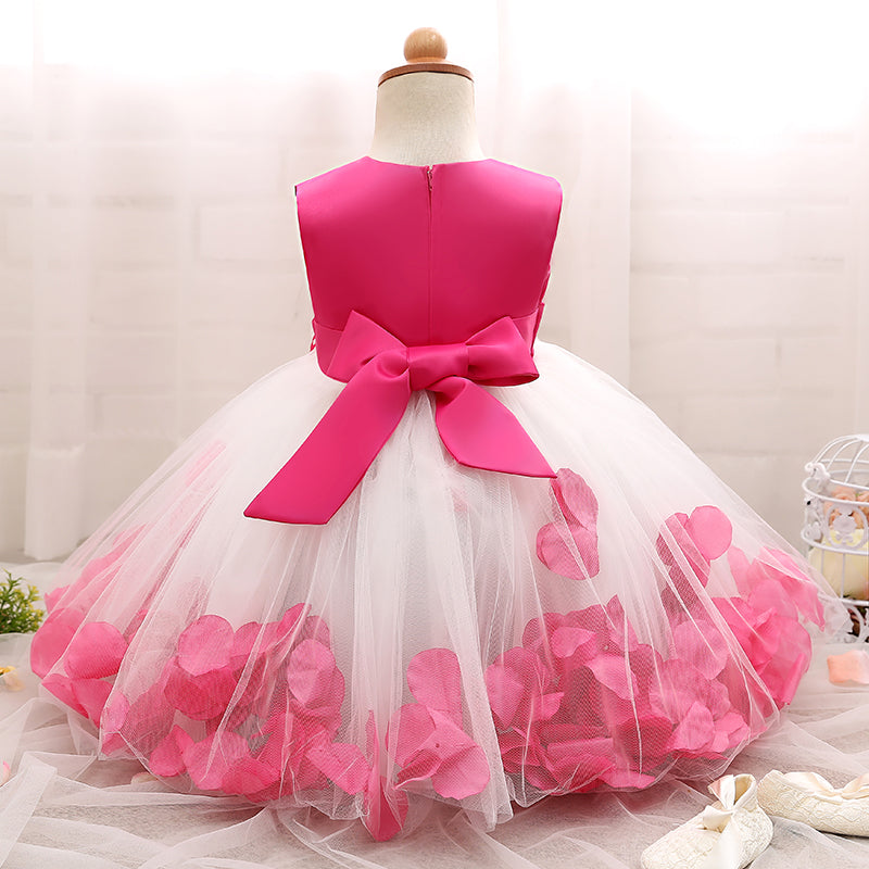 eb3a76d2b Birthday Baby Girl Christmas Dress Tutu Baptism Infant Christening ...