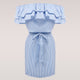 lossky Women Striped Summer Dress Ruffle Collar