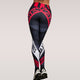 Push up fitness legging print letters bodybuilding women's leggings sportswear