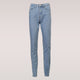 Basic Denim Jeans Classic Women High Waist Jeans with Cowboy Style