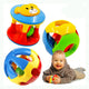 2 PCS/Set New Lovely Baby Rattles Plastic Baby Toys