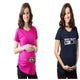 2018 Pregnant Maternity T Shirts Shorts Casual Pregnancy Clothes For Women Maternity Clothing Cotton Summer