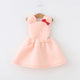 2018 baby girl bow air layer dress kids strap cartoon dresses children summer new casual style dress