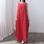 Pregnant Sexy Sleeveless Long Maxi Dress Summer Maternity Dresses Blusas Clothes For Pregnancy