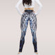 New Wing Print Push Up Fitness Sexy Cartoon 3d Graffiti Women Casual Leggings