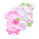 New Baby Bodysuits Cotton Infant Body Jumpsuit Short Sleeve Clothing Cartoon Printed
