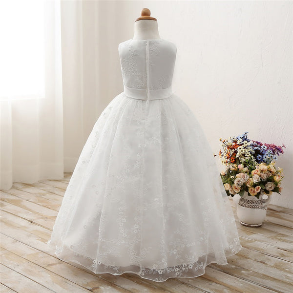 White First Communion Dresses For Girls
