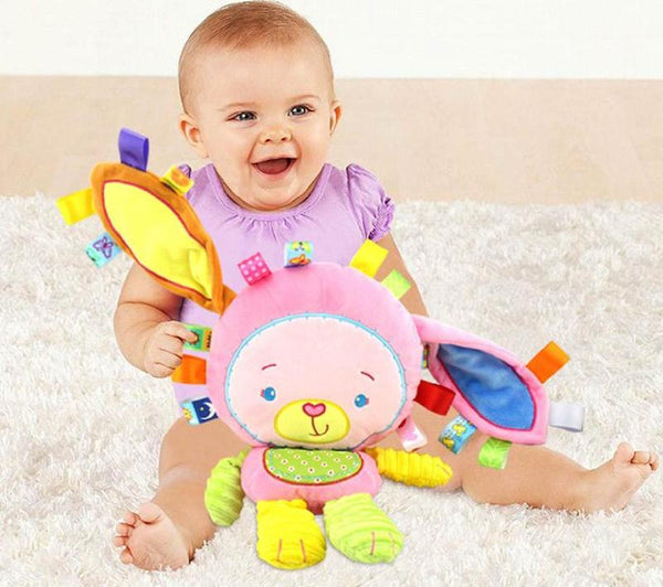 Baby Appease Toys Ring Bell Squeaky Sound Educational Toys