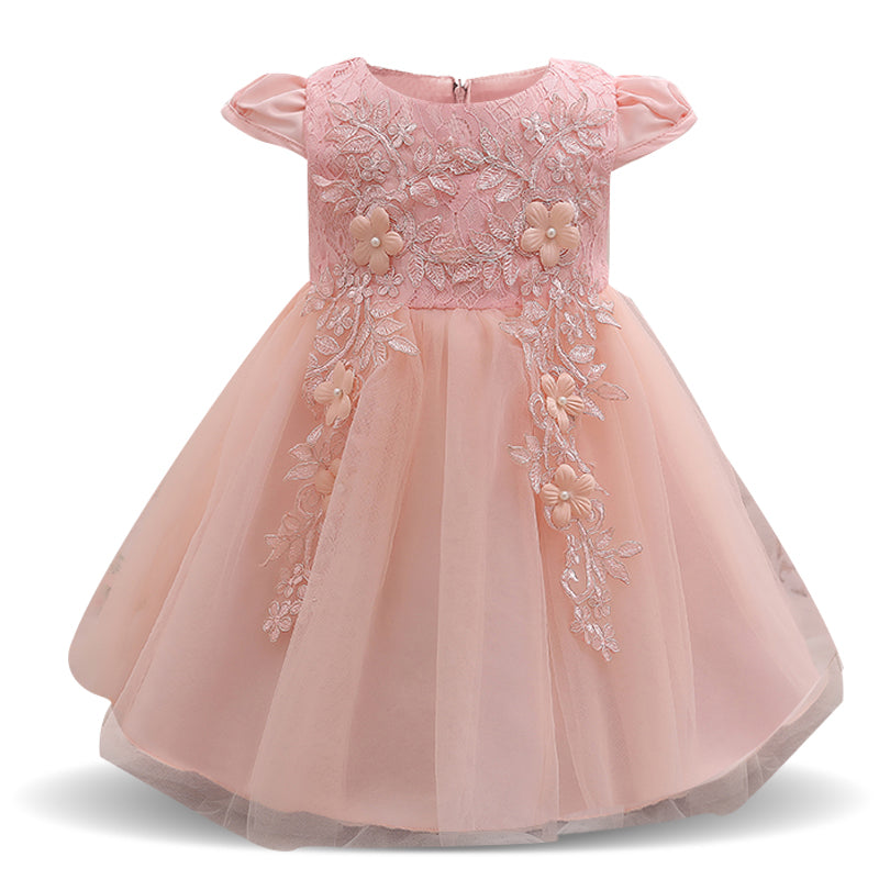 db953b9e57b82 Baby Frock Designs Toddler Girl Party Wear Kids Clothes Birthday Dress For  Girl