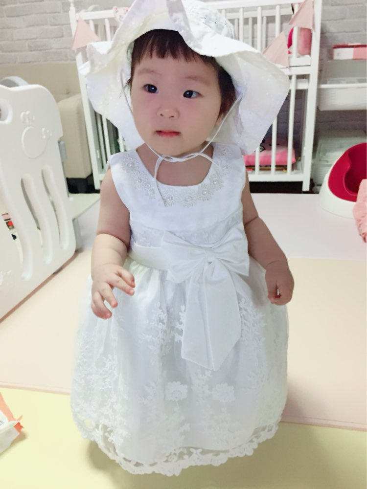 8c6bb7658a05d Baby Girls Dress For Party Princess Dresses Infant Christening Gown ...