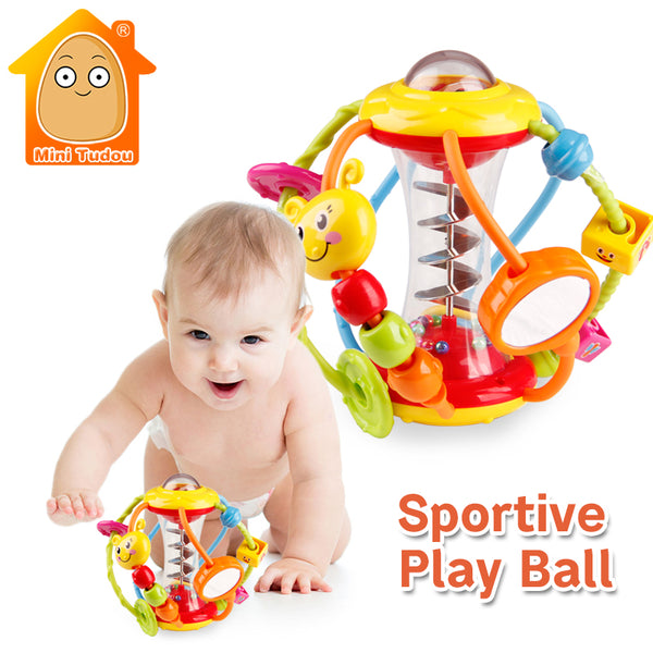Baby Rattle Activity Ball Baby Rattles Educational Toys For Babies