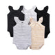 New  Summer Baby Girl Clothes Short Sleeve Cotton Printed Bodysuits