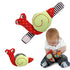Cute Newborn Baby Rattle Toy Cartoon Snail Cotton