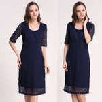 New Maternity Party Maternity Breastfeeding Nursing Dress for Pregnant Women