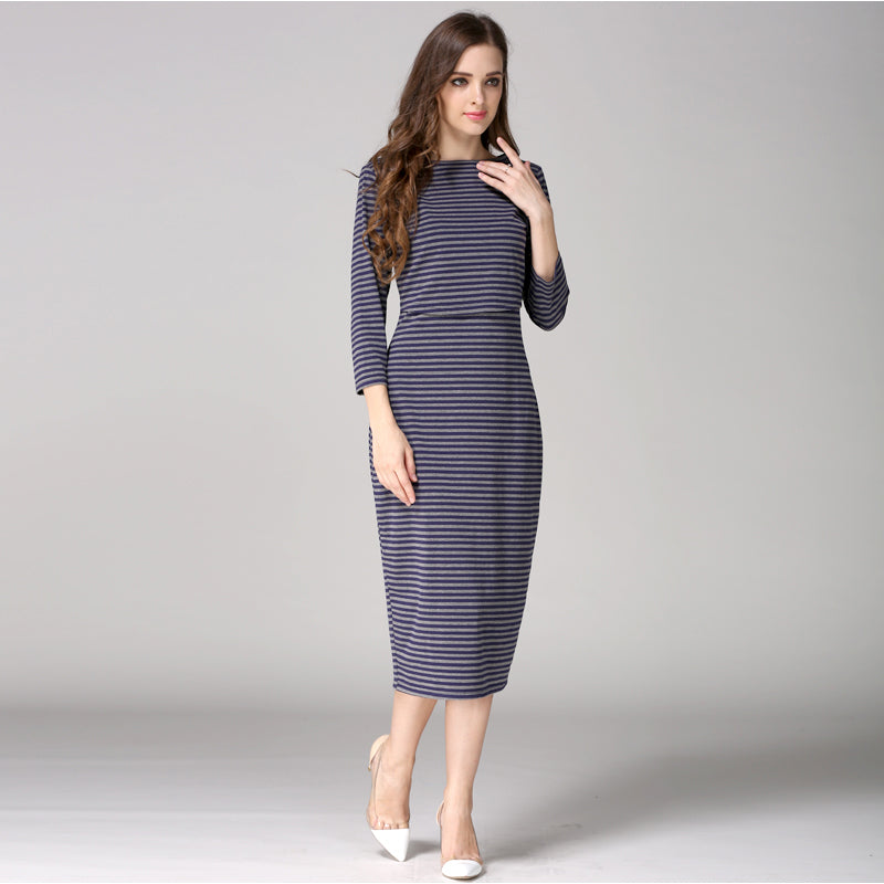 14f761538 New Party pregnancy clothes for Pregnant Women nursing Breastfeeding Dresses