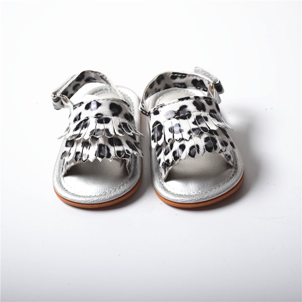 Fashion Summer Newborn First Walkers Christening Baptism Baby Shoes