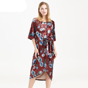 55789cd80d7c8 NEW WINTER FLORAL NURSING MATERNITY DRESSES (FREE SHIPPING) ...
