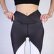 Hot Sales Mid waist athleisure legging sportswear dot print for women long pant push up