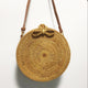 New Popular Hot Sale Vietnam Woven Round Straw Women Hand Bags