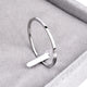 Titanium Steel Rose Gold Color Anti-allergy Smooth Couple Wedding Ring Woman Man Fashion Jewelry