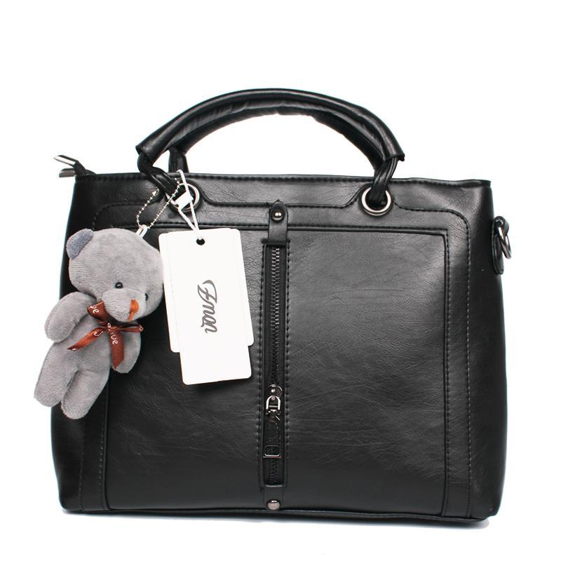 7917f2a89fc Luxury Women Leather Retro Vintage Designer High Quality Famous Brand Hand  Bag