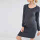 Pregnant Women's Maternity Dress Long Sleeve O Neck Knee-Length Casual Dresses Plus Size M-5XL