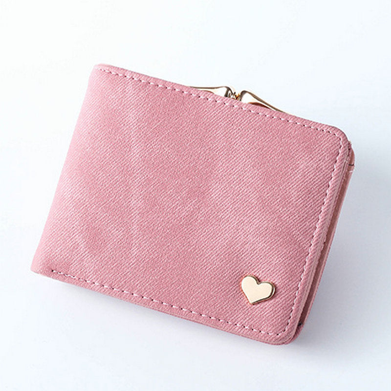 f29382b1a270 New Wallet Small Hasp Coin Purse For Women Luxury Leather Female ...