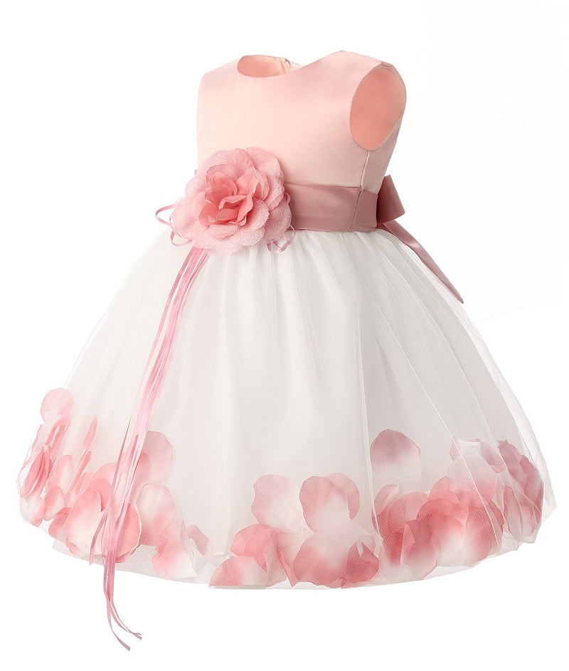 4a38edee4f75 Newborn Baby Girl Birthday Dress Infant Princess Party Dresses For ...