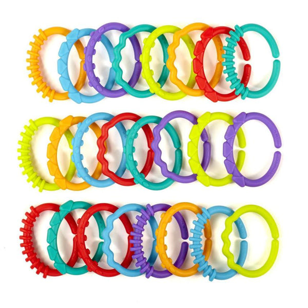 New 24pcs/lot Rainbow ring  hand ring baby car