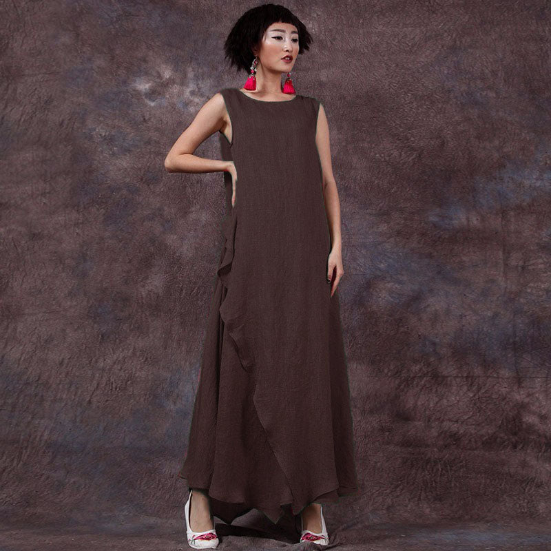 6476ed139e7c Plus Size Pregnant Women Long Dress Mother Casual Loose Summer Maternity  Clothings Pregnancy Ankle-length