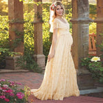 Women Dress Maternity Photography Props Lace Pregnancy Clothes