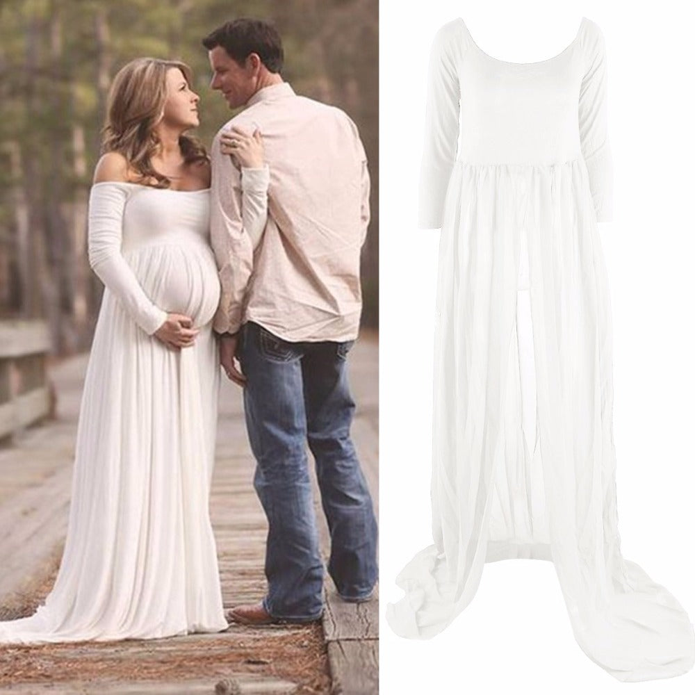 8ec2b6ba08f Hot Maternity Dress Photography Props Pregnant Women – Style Guide