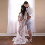 Pregnant Women Dresses - Front Split - Maternity Photography Dress