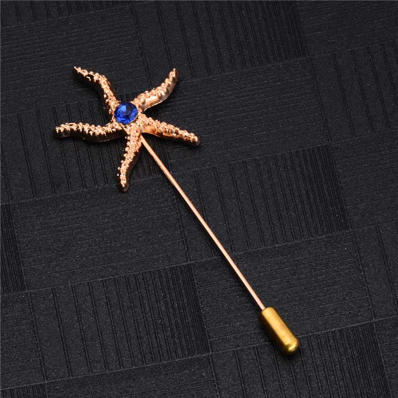 d7f5559c206 Lapel Pins For Men Suit Accessories Stick Brooch Pins Wedding Party Jewelry