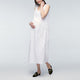 Maternity Women Dress Loose Sleeveless O Neck