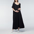 Pregnant Dress Casual Solid Baggy Dress Women Short Sleeve Ankle-length
