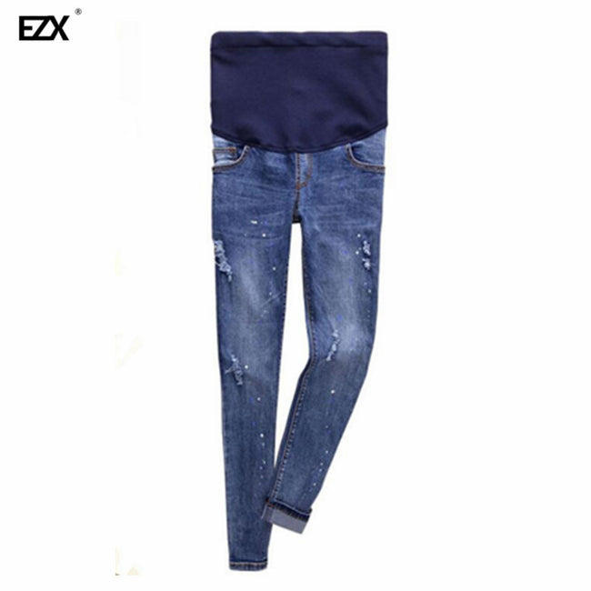 beb16d1f4b519 Women's jeans Good Quality Cotton Denim Adjustable Maternity Jeans All –  Style Guide