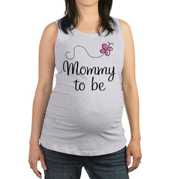 Pregnancy Clothes Funny Maternity T Shirt for pregnant Women plus size3XL t-shirt