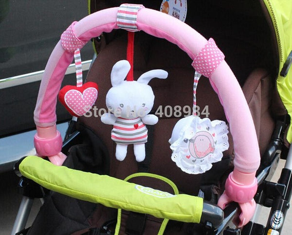 Hot sale lovely Stroller  Lathe Car Seat Cot Hanging toys baby play Travel