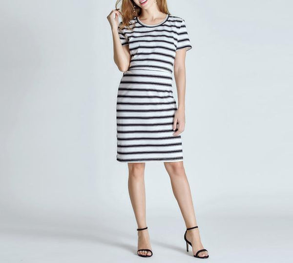 Maternity Nursing Dress With High-Quality Fabric