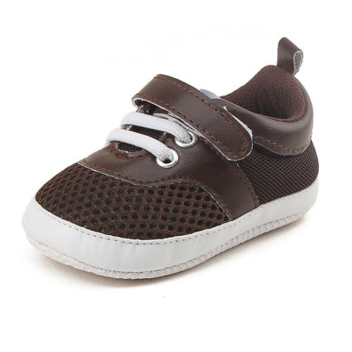 Summer Mesh Sneakers Baby Breathable Shoes Baby Girl & Boy Hook & Loop Soft Sole Net Sport Shoes