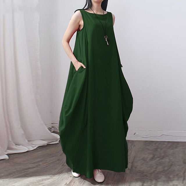 7a23ae3f12751 Pregnant Sexy Sleeveless Long Maxi Dress Summer Maternity Dresses Blusas  Clothes For Pregnancy