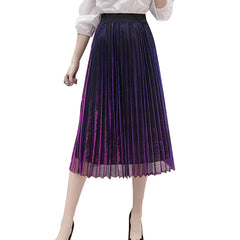 silk-skirt-pleated-purple