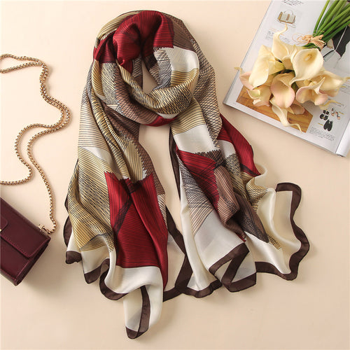 New luxury brand women scarf