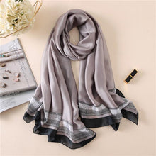 Fashion lady silk scarf