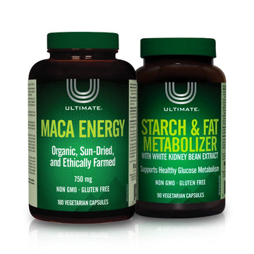 Ultimate's Bundle - Fat & Starch Metabolizer and Maca Energy