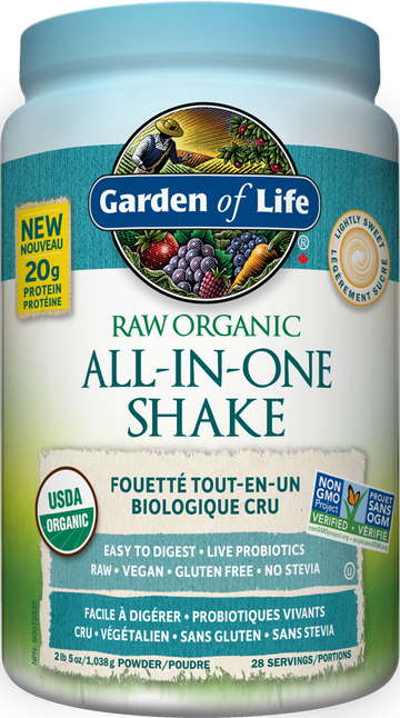 RAW ALL-IN-ONE NUTRITIONAL SHAKE - Lightly Sweetened